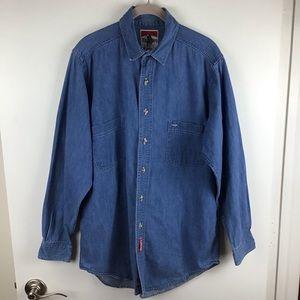 Marlboro | Vintage Long Sleeve Denim Shirt